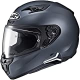 HJC i10 Full Face Helmet Snell 2020 with Sena Smart HJC Bluetooth Headset SF Anthracite Xlarge