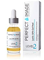 Lactic Acid 50% Gel Peel 1 oz - Enhanced with Kojic Acid & Bearberry Extract by PERFECT IMAGE