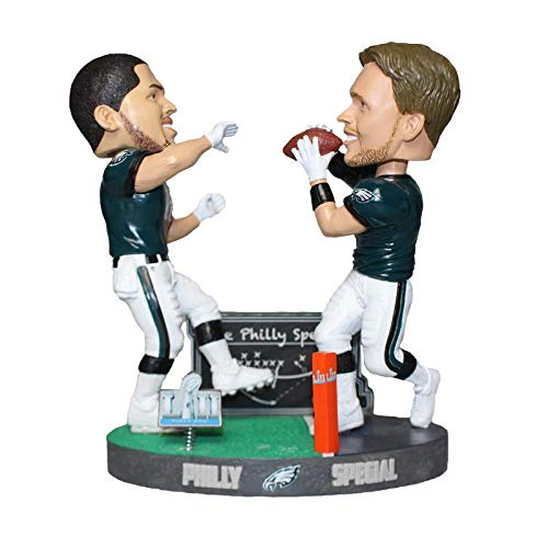 Forever Collectibles Football - Philadelphia Eagles - The Philly Special: Nick Foles & Trey Burton Bobble Head Set