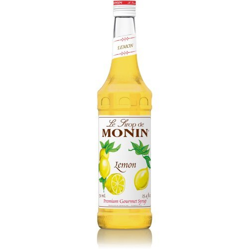 Monin Lemon Syrup 750ml (25.4oz)