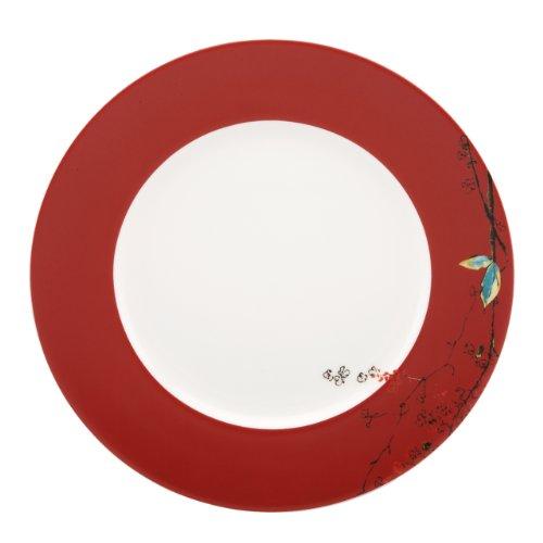 Lenox Simply Fine Scarlet Chirp Dinner - China Dinner Fine Plate
