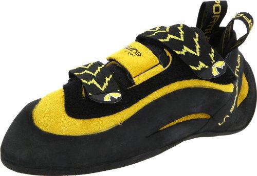 La Sportiva, zapatillas de escalada para hombre multicolor, negro/amarillo - Black/yellow