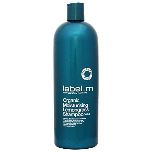 Label.M Organic Moisturizing Lemongrass Shampoo, 33.8 Ounce (Shampoo Lemongrass Dry Hair)