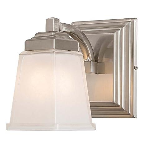 Allen + Roth Elloree Brushed Nickel Bathroom Vanity Light