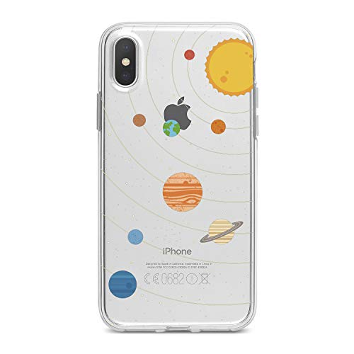 Lex Altern TPU Case for iPhone Apple Xs Max Xr 10 X 8+ 7 6s 6 SE 5s 5 Sun Lightweight System Flexible Girls Galaxy Themed Gift Cover Women Solar Smooth Print Planets Design Clear Slim fit Soft Cute]()