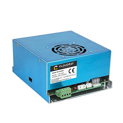 Cloudray CO2 Laser Power Supply 40W 110V/220V for CO2 Laser Tube and Laser Engraver MYJG 40