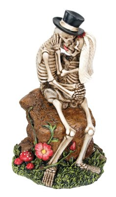 Love Rocks Collectible Skeleton Figurine