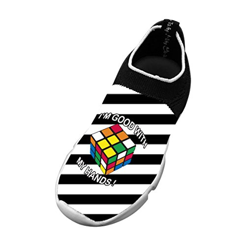 I'm Good With My Hands 3D Printing Children's Slip-on Flyknit Outdoor Sport Shoes