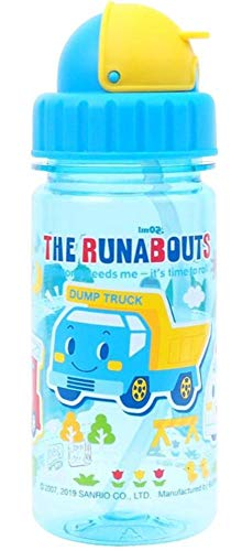 Toddler Runabout - The Runabouts Tritan BPA & BPS Free Straw Water Bottle Heat & Cold Resistant 10.5-oz