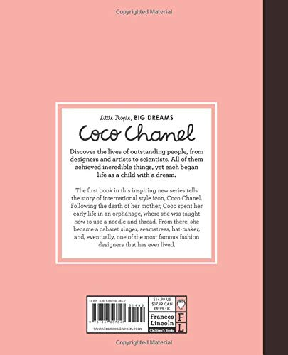 COCO CHANEL (Little People, Big Dreams): Amazon.es: Sanchez Vegara ...