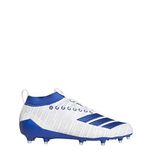 adidas Adizero 8.0 Cleats Men's, White, Size 13