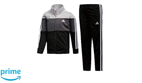 didas Boys' Tricot Jacket & Pant Clothing Set