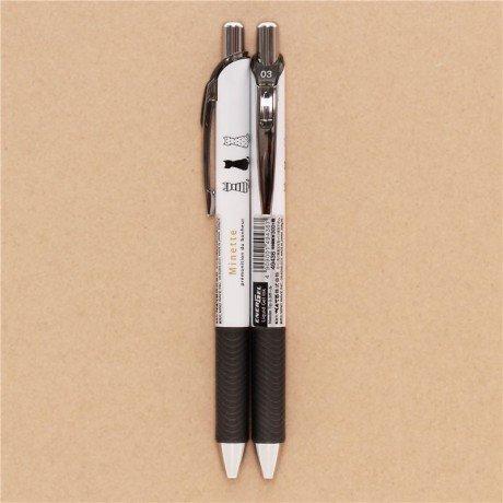 Bolígrafo boli tinta líquida gel blanco con gatos de Japón: Amazon.es: Hogar