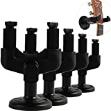 Kmise Guitar Hook Hanger Holder Wall Mount Stand Rack Bracket for Bass Acoustic Electric Guitars Parts 4 Pcs
