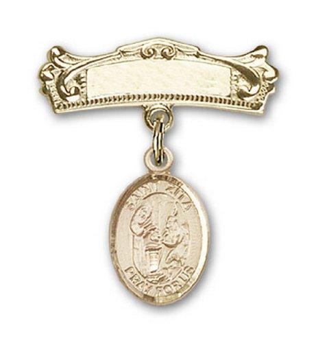 Icecarats Or Bijoux De Créateurs Rempli R. Charme Zita Broches Badge Arc 7/8 X 3/4