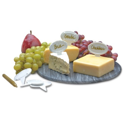 RSVP White Porcelain Cheese Labels product image