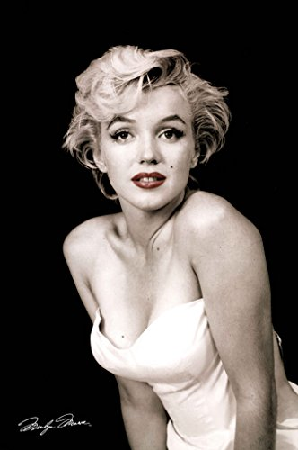 Pyramid America Marilyn Monroe-Red Lips, Movie Poster Print, 24 by 36-Inch