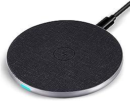 WisFox Qi急速 ワイヤレス充電器 5W/7.5W/10W 各種対応 (黒) CE0172_01JP