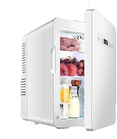 ミニ冷蔵庫 22リットルのミニ冷蔵庫ミニ電気冷蔵庫クーラー独立した5 Litersfreezing 17リットル冷凍 (Color, CAR/HOME),CAR/HOME