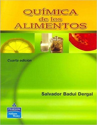 Book Química de los alimentos