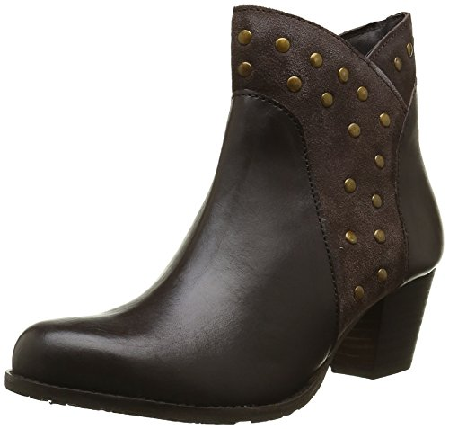 Brown Marron Boots Puppies Ankle Hush Women's Kris OqFB8nR0