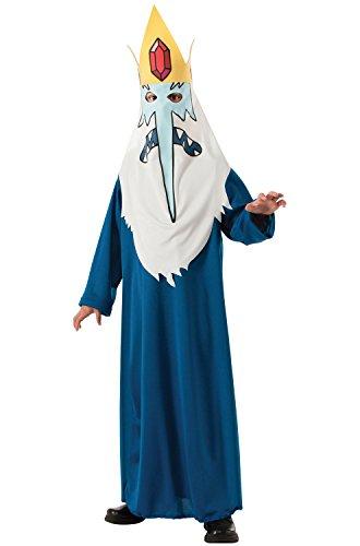 Rubie's Costume Co Men's Adventure Time Ice King Costume Robe, Multi, (Adventure Time Costume Adult)