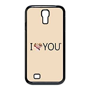 I Love You Typography Samsung Galaxy S4 90 Cell Phone Case Black Gift pjz003_3192560