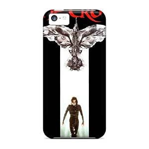 MMZ DIY PHONE CASEiphone 5c BWO15486LFjs Unique Design High-definition Foo Fighters Pattern Scratch Protection Cell-phone Hard Covers -JacquieWasylnuk