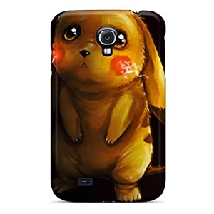 Lajonline Perfect Tpu Case For Galaxy S4/ Anti-scratch Protector Case (pikachu)