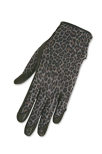 Gloves Golf Leopard - HJ Glove Women's Brown Leopard Solaire Full Length Golf Glove, Medium, Left Hand