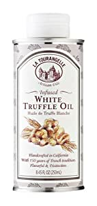La Tourangelle Infused White Truffle Oil, 8.45 Ounce Tin