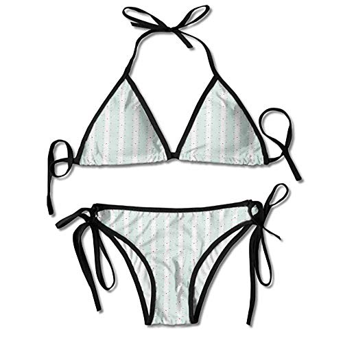 Bikini Questa Sera Parfum Chic Composition with Little Dots Printing Bikini