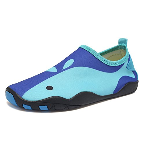 6c70c76c4422 CIOR Kids Water Shoes Quick-Dry Boys and Girls Slip-on Aqua Beach Sneakers