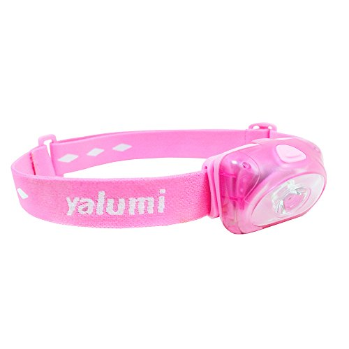 Yalumi LED Headlamp Spark 105 Lumens, Max 140 Lumens, 90-Meter Spotlight, Advanced Optics, 1.5X Brightness, Longer Battery Life, Less Than 2.7oz (Pink/Pink)