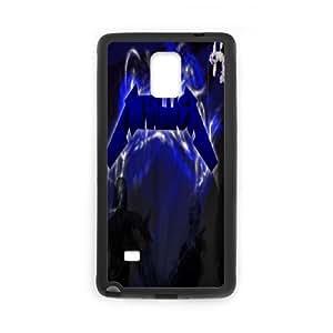 Personlised Printed Metallica Phone Case For Samsung Galaxy Note 4 N9100 WY3K02629