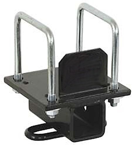 PMD Products RV 4 Bolt Bumper Hitch Mount Receiver Adapter 3500lbs towing cargo bike rack for Camper Motorhome 18018