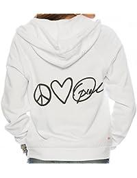 Peace Love Oprah Fleece Zip Hoodie