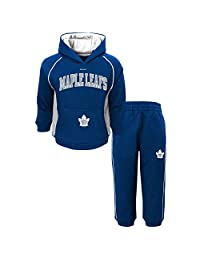 Toronto Maple Leafs Infant Classic Fan Pullover Fleece Hoodie and Pant Set