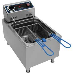 Commercial Pro Electric Countertop Fryer - 10 lbs oil capacity