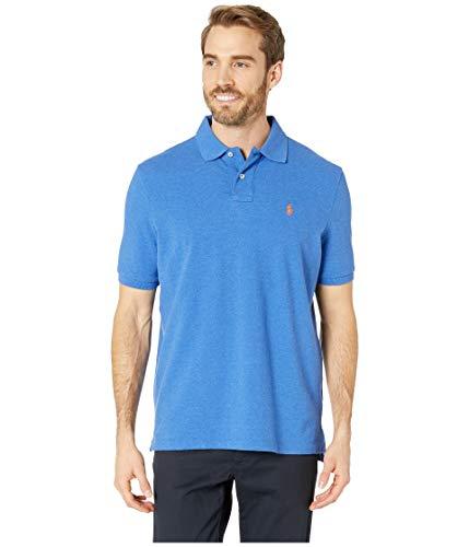Ralph Lauren Men's Classic Fit Mesh Pony Logo Polo Shirt (XL, DocksideBlueHtr)]()