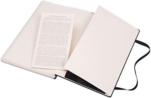 Moleskine Paper Tablet Notizbuch Digitales Smart Notizbuch Paper Tablet (mit linierten Seiten und Hardcover, liniert, Extra-Large 19 x 25 cm) schwarz