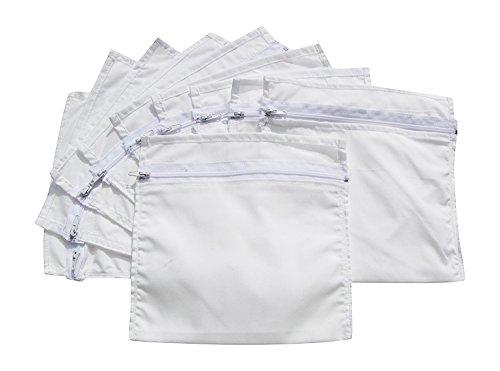 HoboTraveler.com 10 Zipper Secret Money Pockets Ready to Sew Into Clothing ()