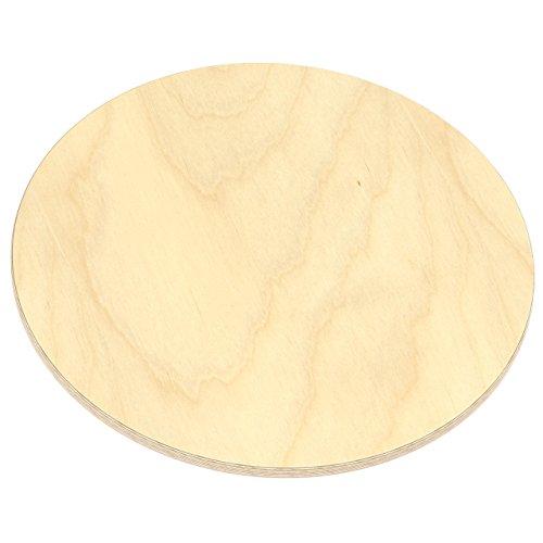 AUPROTEC Multiplexplatte 18mm Rund O 400mm Holzplatten Von 20cm 148cm Auswahlbar Runde Sperrholz Platten Birke Massiv Multiplex Holz Industriequalitat Als