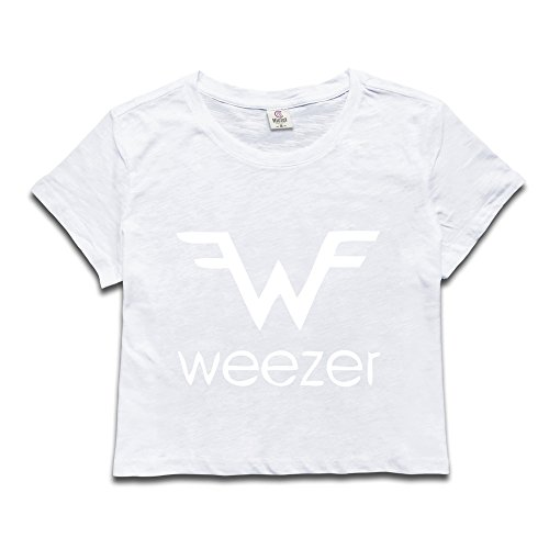 Money Girls T-shirt - Girls Weezer Dew Navel Tshirt