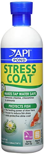 (Stress Coat Fish and Water Conditioner Size: 16 Oz)