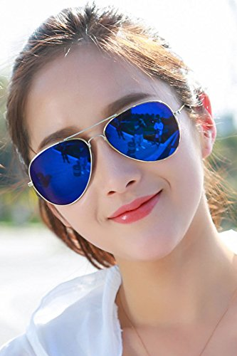 cc9cbad3a7f Amazon.com   Generic Multi-color into new  summer  cool color men Ladies   women girls sunglasses  Mirror Driver pilot color film  glasses  sunglasses    ...