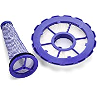 Innovaty Replacement Compatible Dyson DC50 HEPA Post-Motor Filter&Pre-Motor Filter,Animal and Multi Floor Compatible Part #965081-01&965080-01