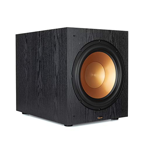 Klipsch Synergy Black Label Sub-120 Subwoofer with Spun Copper Cerametallic woofers and a 12-inch, Front-Firing Driver
