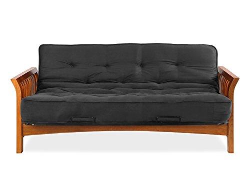 Sofas 2 Go SI-EX-BOS-VO-2K Boston Vintage Oak Futon Frame W/ 8