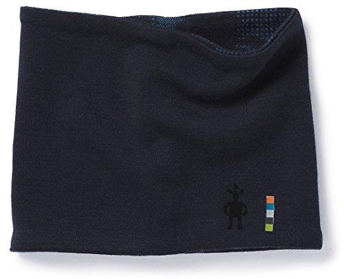 (Smartwool Kids' Merino 250 Pattern Neck Gaiter Deep Navy-Bright Cobalt LXL)